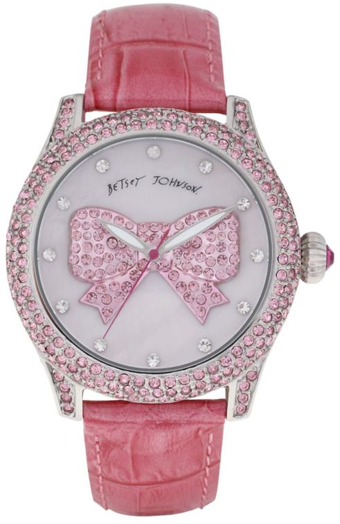 Betsey Johnson Leather Strap